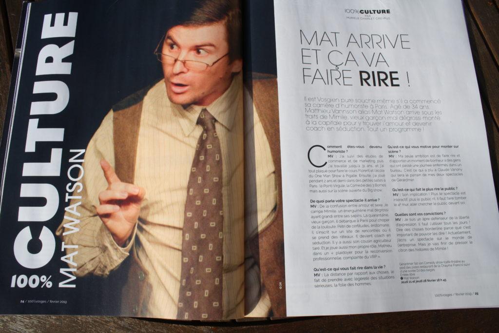 100% Vosges - Mat Watson