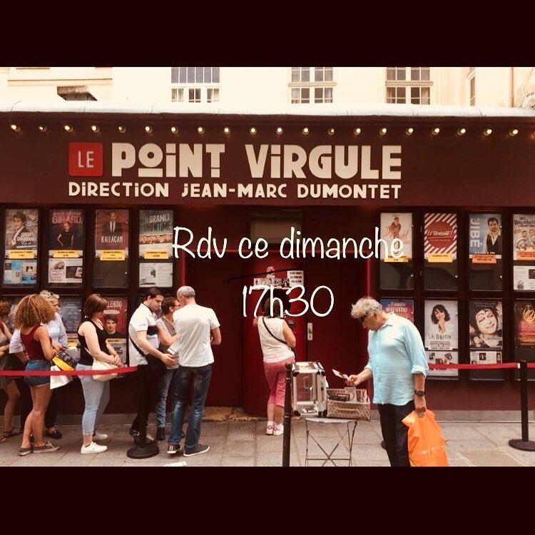 Théâtre du Point Virgule - Mat Watson