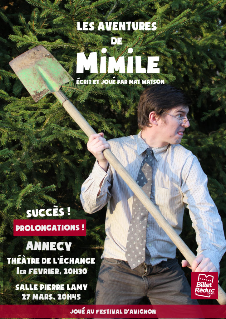 Les aventures de Mimile à Annecy - Mat Watson