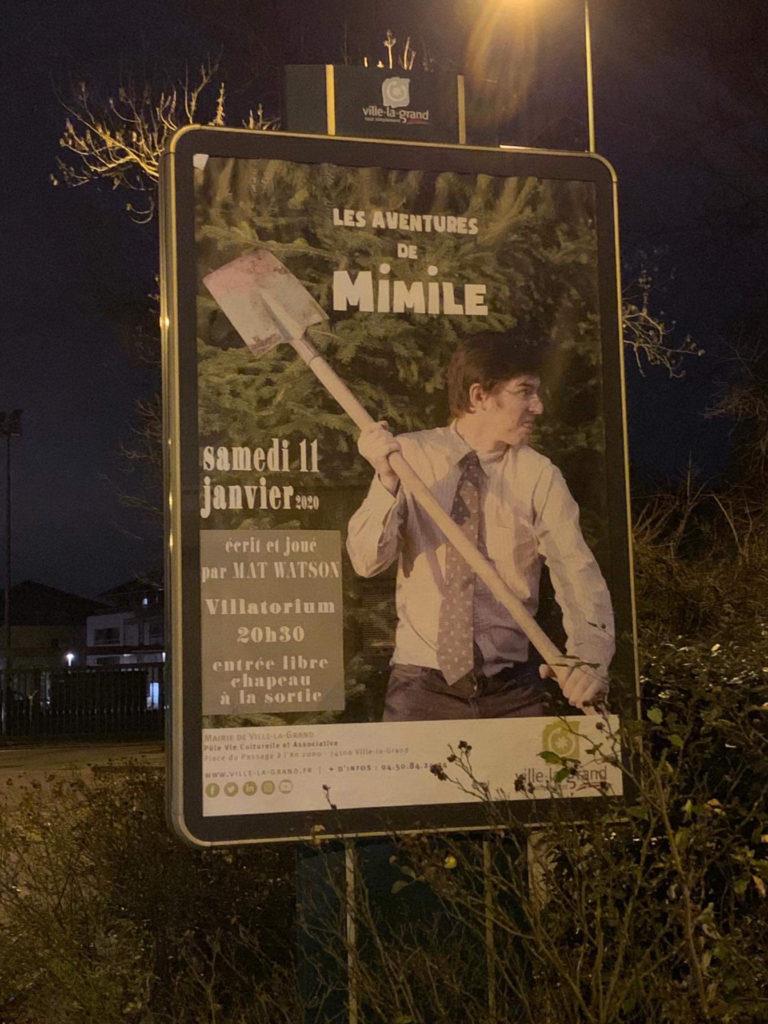 Les aventures de Mimile, Ville la grand - Mat Watson