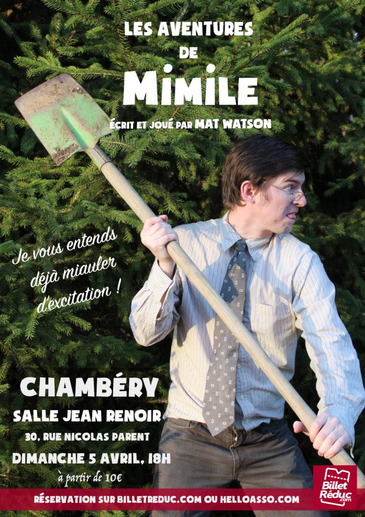 Les aventures de Mimile, Chambéry - Mat Watson